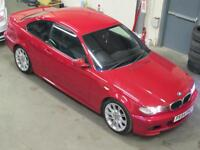 BMW 318CI SPORT COUPE M Sport styling Full Service History RED MANUAL