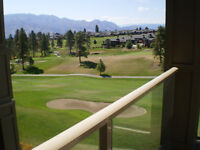 Aria Large Balcony 2Bd/2Bath overlooking Two Eagles Golf Course.