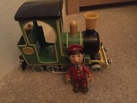 Postman pat moving train
