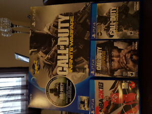Ps4 and 3 games for sale!!!