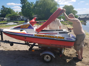 1996 Arctic Cat Tiger shark 900