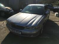 Jaguar X-TYPE 2.0D 2005MY SE,DIESEL,CREAM LEATHER,BELOW AVERAGE MILES