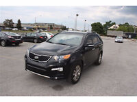 2012 Kia Sorento, NAVIGATION, 3rd Row seats, AWD, leather