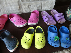 Selling 8 Pairs Boy/Girls Youth Shoe's, Boots & Sandals Kitchener / Waterloo Kitchener Area image 4