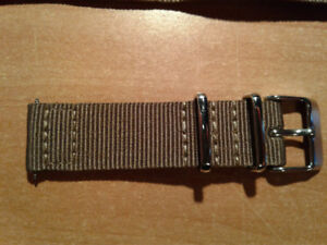 Brown 2-piece Classic NATO Bands