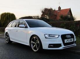 2013 Audi A4 2.0 TDI 143 BLACK EDITION 5DR TURBO DIESEL ESTATE ** 36,000 MILE...