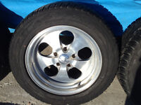 """17"""" billet wheels and tires  like new !!!"""