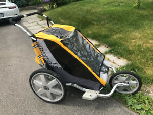Chariot Cheetah running stroller and bike trailer