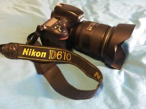 Nikon D610 w/ 24-120mm f4 lens combo
