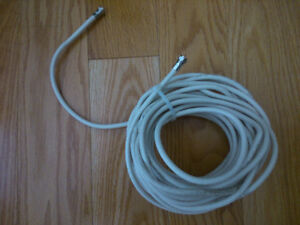 30 Feet Coaxial Cable provided/ made by Rogers