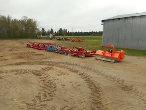 SELECTION OF FLAIL , ROTARY  AND FINISHING MOWERS