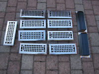 "Vent Covers - Stainless Steel - 3"" x 10"" openings"