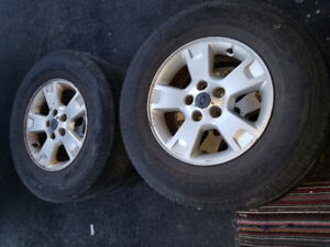 Summer Tires With Original Ford Rims