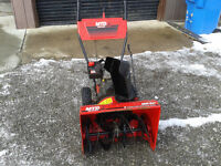MTD 5hp 24 inch Snowblower
