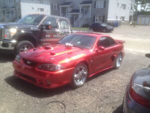 1995 Ford Mustang candy apple