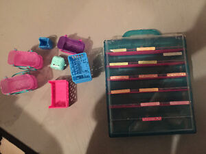 Shopkins case and some baskets