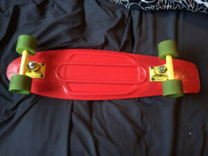 Used Penny Nickel Board Red Yellow & Green