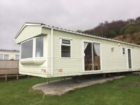 Static caravan at Castle Sween holiday park