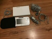 Barely used Nintendo Wii U great condition