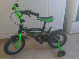 Child's bike (with push handle)
