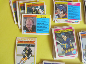 360 different 1982-83 hockey cards in nice condition