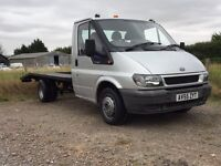Ford Transit Recovery!!! 92000 miles