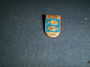 U.S.S.R. EXPO 67 COLLECTOR PINBACK-PINS-WORLD'S FAIR-RUSSIA