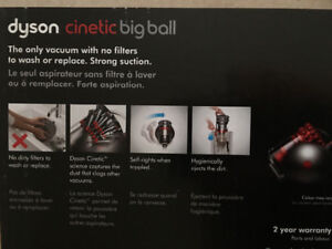 New Dyson cinetic big ball canister vacuum cleaner