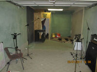 $560.00 Band practice room for rent