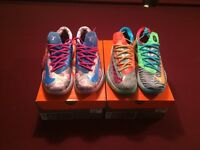 Nike Aunt Pearls and What the KD 6's sz 11 mens with receipt DS