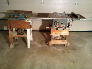 Table saw and jointer