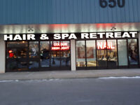 Hiring Hairstylist and Nail Technicians in Burlington