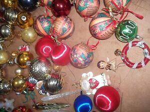 Christmas Tree Ornaments (pink tones) London Ontario image 5