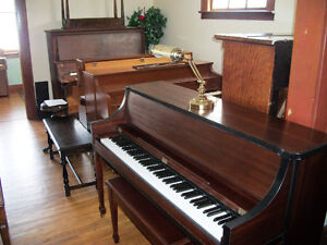 Lots of pianos looking for new homes !!!