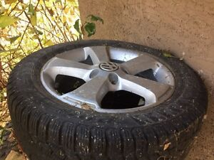 VW Jetta winter tires and wheels