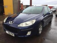 2006 06 Peugeot 407 S 2LTR **LOW MILES** SERVICE HISTORY SPARE KEY