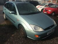 1999 (V) Ford Focus 1.8i 16v ( a/c ) LX HPI CLEAR FULL MOT EXCELLENT RUNNER