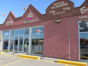 Prime Retail Space For Lease – 774 A saint Joseph 2 Months Free