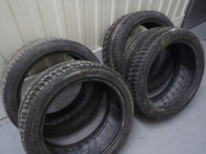 4 Michelin Pilot Alpin PA4 255/40r19 100V Hiver/Winter