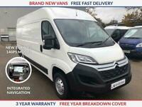 New Citroen Relay L2 H2 2.2 HDI 140ps Enterprise Euro 6.2 **NEW MODEL**
