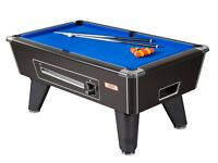 SUPREME WINNER POOL TABLE'S COIN OP IN STOCK
