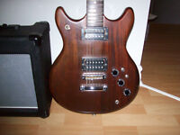 VANTAGE ( JAPAN )   ELECTRIC GUITAR  AND  TRAYNOR  AMP