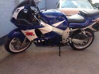 Suzuki Gsxr 600 srad low miles good condition