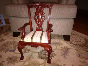 Beautiful miniature chair