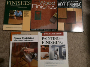 Woodworking, cabinetry, renovations, timberframing books