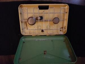 Vintage Propane camp stove             **never used**