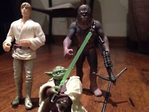 Star Wars action figures rare