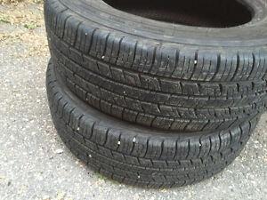 Two(2) rubber tires Assurance(Good year) 195/65 R15 Regina Regina Area image 5