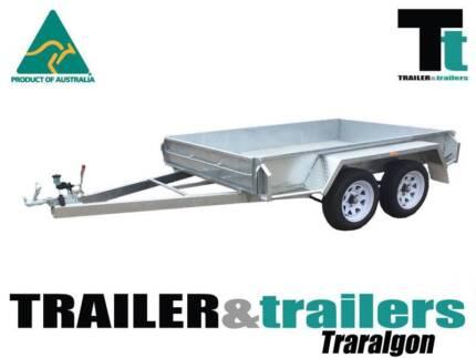 8x5 AUSTRALIAN GALVANISED|TANDEM BOX TRAILER|1990KG GVM| Traralgon East Latrobe Valley Preview