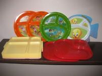 CHILDREN'S DINING AND PICNICK SETS